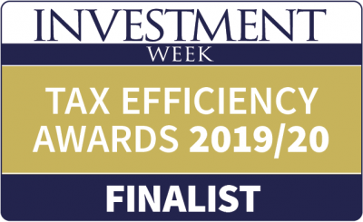 Tax Efficiency Awards 2019/20 Tax-efficient Group of the Year.